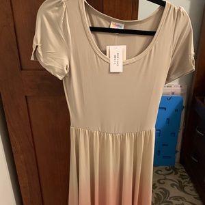 XXS LuLaRoe Riley Ombré Maxi Dress